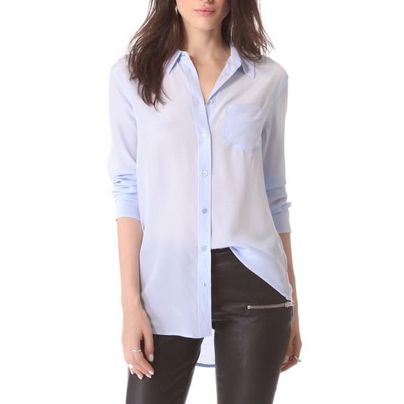 d0909fab9cd1fe Equipment Tops - Equipment Femme Reese Silk Buttondown Blouse Top